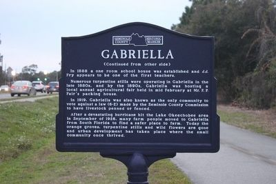 Gabriella Marker Side 2 image. Click for full size.