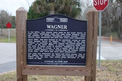 Wagner Marker Side 1 image. Click for full size.