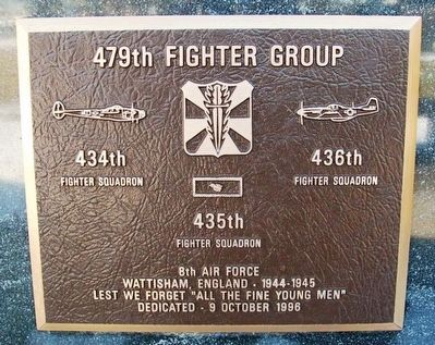 479th Fighter Group Marker image. Click for full size.