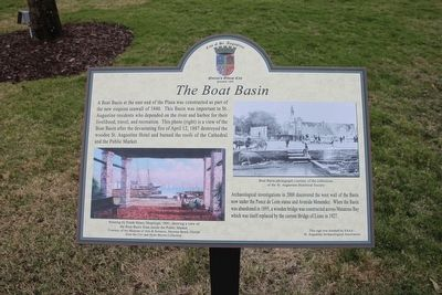 The Boat Basin Marker image. Click for full size.