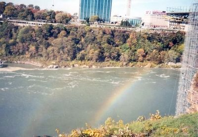 Rainbow over the Falls image. Click for full size.