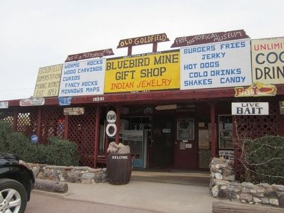 The Bluebird Mine and Gift Shop image. Click for full size.