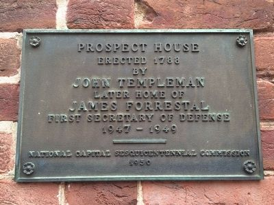 Prospect House Marker image. Click for full size.