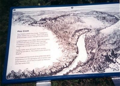 Pine Creek Marker image. Click for full size.