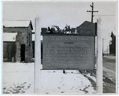 Hull's Rendezvous Marker image. Click for more information.