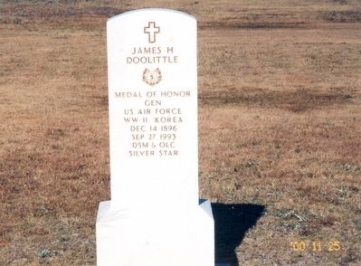 James H. Doolittle Marker image. Click for full size.