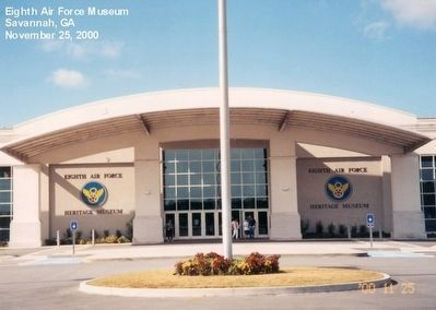 Entrance to the Mighty Eighth Air Force Museum image. Click for full size.