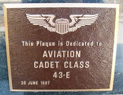 Aviation Cadet Class 43-E Marker image. Click for full size.