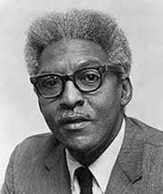 Bayard Rustin image. Click for full size.