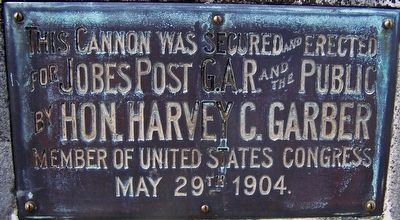Greenville Union Cemetery Cannon image. Click for full size.