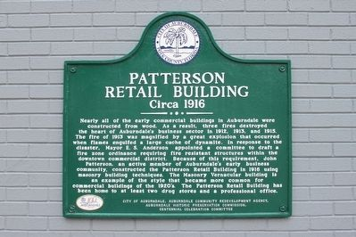 Patterson Retail Building Circa 1916 Marker image. Click for full size.