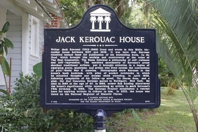 Jack Kerouac House Marker image. Click for full size.