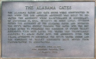 Alabama Gates Marker image. Click for full size.