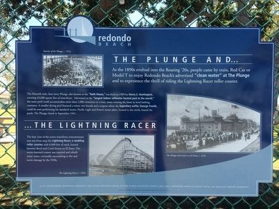 The Plunge and ... the Lightning Racer Marker image. Click for full size.