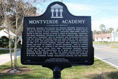 Montverde Academy Marker image. Click for full size.