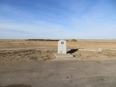 Site of Cator Buffalo Camp Marker image. Click for full size.