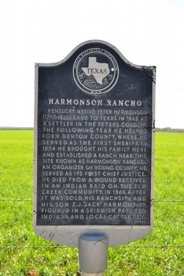 Harmonson Rancho Marker image. Click for full size.