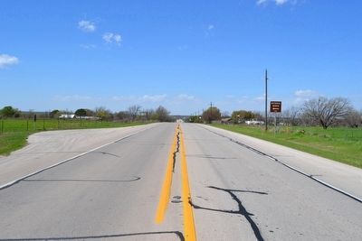 View to West on US 380 Towards Town of Newcastle image. Click for full size.