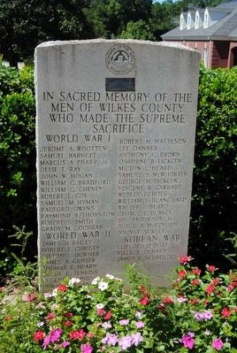 Woodmen of the World Supreme Sacrifice Monument image. Click for full size.