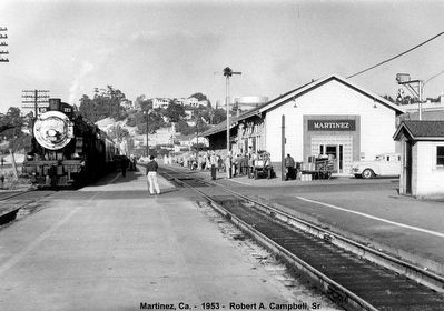 The original Martinez Train Depot image. Click for full size.