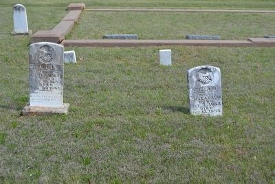 Headstone and Grave of Stella M. Walsh on Right image. Click for full size.