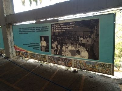 Exhibition on Dr. Pedro Chamorro and other prisoners at Loma de Tiscapa image. Click for full size.