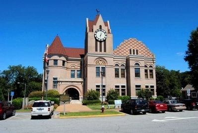 Wilkes County Courthouse image. Click for full size.
