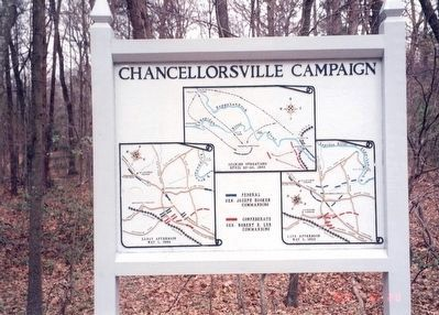 Map of th Chancellorsville Campaign image. Click for full size.