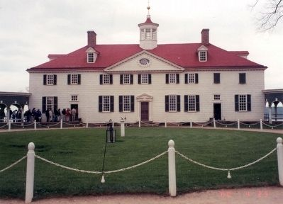 Mount Vernon Mansion image. Click for full size.