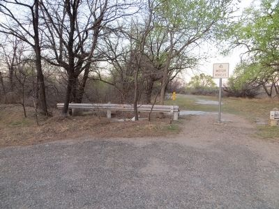 Site of Old Springer's Road Ranch Marker image. Click for full size.