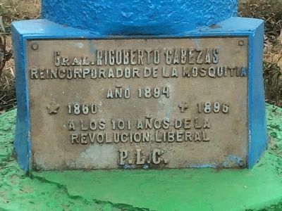 General Rigoberto Cabezas Marker image. Click for full size.