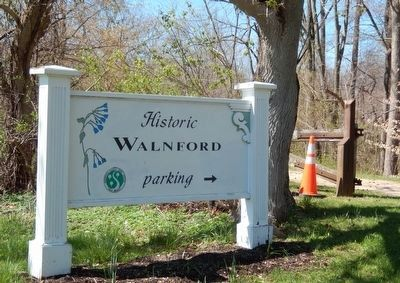 Historic Walnford Park-Sign at the entrance to the park image. Click for full size.