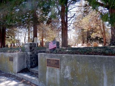 Historic Site of Old Free Church Cemetery image. Click for full size.