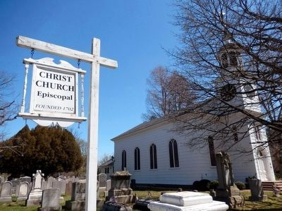Christ Church Episcopal founded 1702 image. Click for full size.