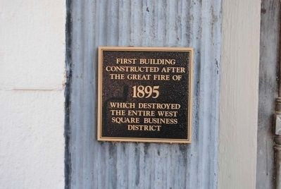 First Building Marker image. Click for full size.