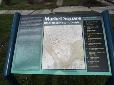 Market Square Marker image. Click for full size.
