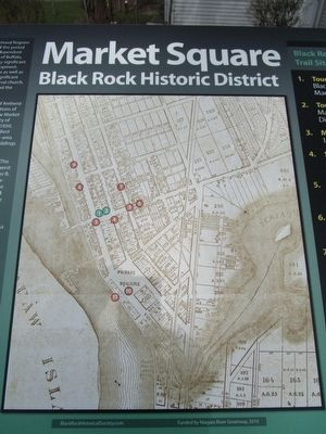 Market Square Marker Map image. Click for full size.