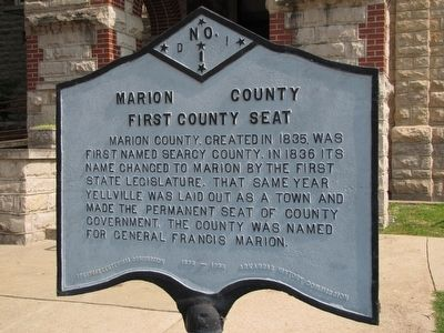 Marion County Marker image. Click for full size.