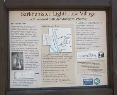 Barkhamsted Lighthouse Village image. Click for full size.