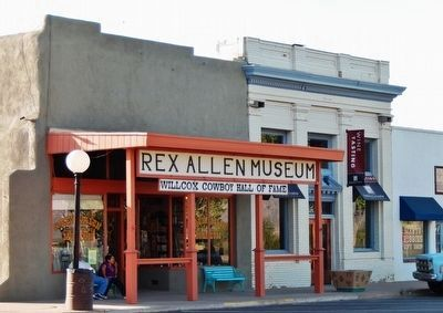 Rex Allen Museum & Willcox Cowboy Hall of Fame image. Click for full size.