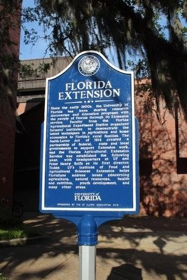 Florida Extension Marker image. Click for full size.