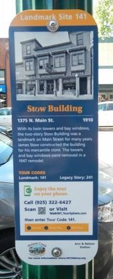 Stow Building Marker image. Click for full size.