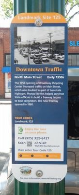 Downtown Traffic Marker image. Click for full size.