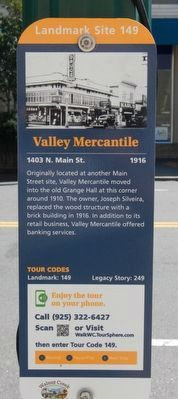 Valley Mercantile Marker image. Click for full size.