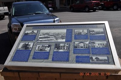Scenes From Hobbs & Market Streets Marker image. Click for full size.