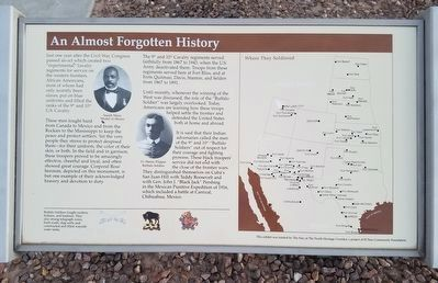 An Almost Forgotten History Marker image. Click for full size.