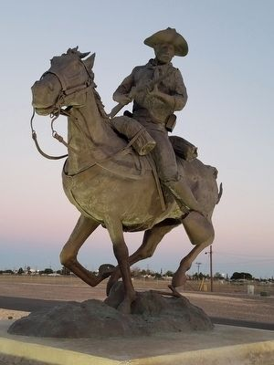 Buffalo Soldier Memorial of El Paso Marker image. Click for full size.