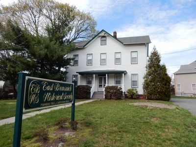 East Brunswick Historical Society formerly the L.J. Smith Farmhouse image. Click for full size.