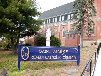 St. Mary's Roman Catholic Church image. Click for full size.