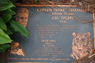 "Chellis ""Mike"" Chambers Marker image. Click for full size."
